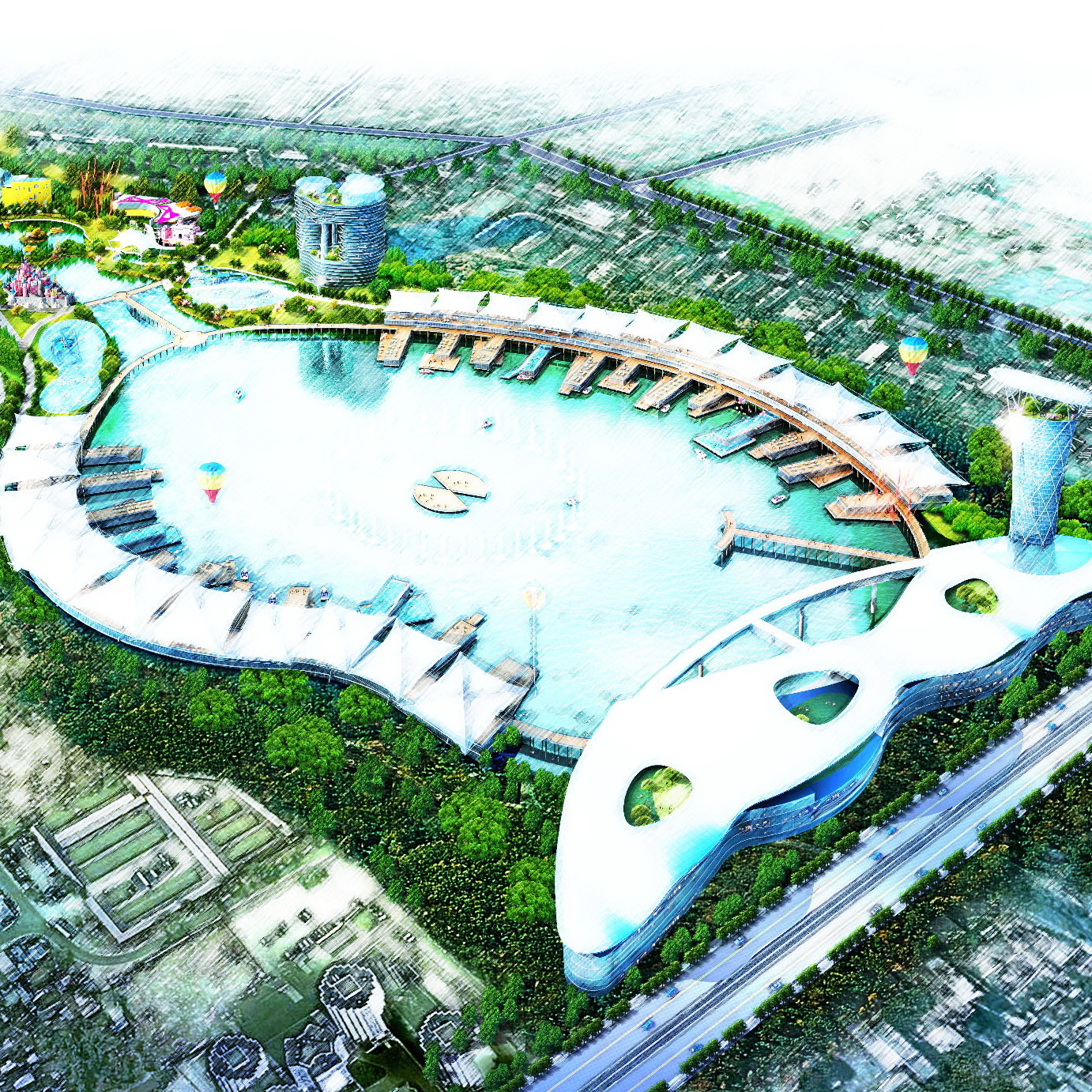 Water Park Project in Almaty